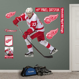 NHL Detroit Red Wings Pavel Datsyuk - No. 13 Wall Decal Sticker Muursticker