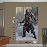 Conner Battle Ready Mural: Assassin's Creed III Wall Decal Sticker Reproduction murale