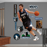 Minnesota Timberwolves Kevin Love - Away Wall Decal Sticker Wall Decal