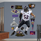 Baltimore Ravens Ray Lewis Super Bowl 47 Wall Decal Sticker Wall Decal