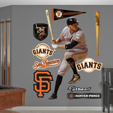 San Francisco Giants Hunter Pence Wall Decal Sticker Wallstickers