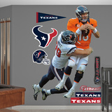 NFL Houston Texans J.J. Watt Takes It On Wall Decal Sticker Wall Decal