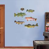 Bass Fish Wall Decal Sticker Adhésif mural