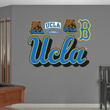 NCAA UCLA Bruins Script Logo Wall Decal Sticker Wallstickers