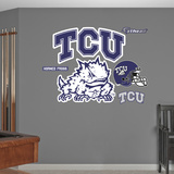 NCAA TCU 2012 Logo Wall Decal Sticker Wallstickers
