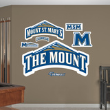 NCAA Mount St Mary Logo Wall Decal Sticker Wall Decal