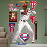 Philadelphia Phillies Domonic Brown Wall Decal Sticker Wall Decal