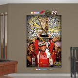 Nascar Tony Stewart Sprint Cup Trophy Mural Decal Sticker Wallstickers
