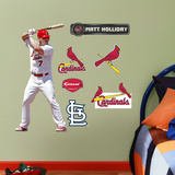 St. Louis Cardinals Matt Holiday Junior Wall Decal Sticker Wall Decal