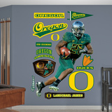 NCAA/NFLPA Oregon Ducks LaMichael James Wall Decal Sticker Wall Decal