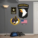 US Army 101st Airborne Logo Wall Decal Sticker Kalkomania ścienna