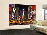 Times Square at Night Wallpaper Mural