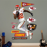 NFL Kansas City Chiefs Dwayne Bowe - Away Wall Decal Sticker Wall Decal
