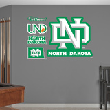 NCAA North Dakota 2012 Logo Wall Decal Sticker Wall Decal