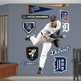 Detroit Tigers Justin Verlander - Ace Wall Decal Sticker Wall Decal