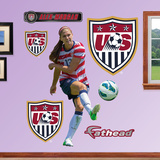 Soccer Alex Morgan Wall Decal Sticker Wall Decal