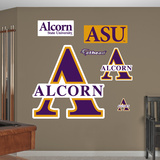 NCAA Alcorn State Logo Wall Decal Sticker Wall Decal