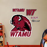 NCAA West Texas A&M Logo Wall Decal Sticker Wall Decal