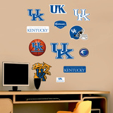 NCAA Kentucky Wildcats - Team Logo Assortment Wall Decal Sticker Wall Decal