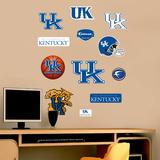 NCAA Kentucky Wildcats - Team Logo Assortment Wall Decal Sticker Wall Decal