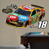 Nascar Kyle Busch 2013 M&M's Car Wall Decal Sticker Wall Decal