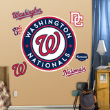 Washington Nationals 2011 Logo Wall Decal Sticker Wall Decal