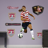 Soccer Alex Morgan - Ball Control Wall Decal Sticker Wallstickers