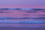 Waves and Surf On the Atlantic Ocean At Sunrise Photographic Print by Brian Gordon Green