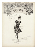 Vogue Cover - July 1899 Regular Giclee Print by Gerald Green