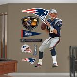 NFL New England Patriots Tom Brady - Quarterback Wall Decal Sticker Adhésif mural