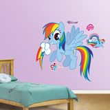 Rainbow Dash Wall Decal Sticker Autocollant mural