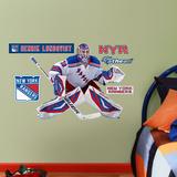 New York Rangers Henrik Lunqvist - Fathead Jr. Wall Decal Sticker Kalkomania ścienna