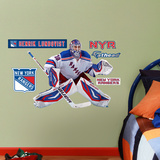New York Rangers Henrik Lunqvist - Fathead Jr. Wall Decal Sticker Wall Decal