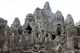 The Ancient Temple Complex At Angkor Thom Photographic Print by Kent Kobersteen