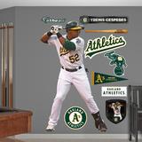 Oakland A s (Athletics) Yoenis Cespedes Wall Decal Sticker Wall Decal