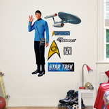 Star Trek Spock - Fathead Jr. Wall Decal Sticker Wandtattoo