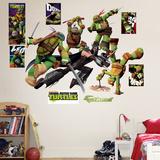 Teenage Mutant Ninja Turtles Shredder Battle Wall Decal Sticker Autocollant mural
