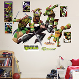 Teenage Mutant Ninja Turtles Shredder Battle Wall Decal Sticker Wallstickers