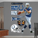 NFL Indianapolis Colts Andrew Luck Rookie Premiere Wall Decal Sticker Wall Decal