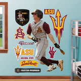 Arizona State Sun Devils Dustin Pedroia ASU Wall Decal Sticker Wall Decal