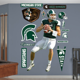 NCAA/NFLPA Michigan State Spartans Kirk Cousins Wall Decal Sticker Wall Decal