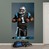 Jacksonville Jaguars Cam Newton Superman Mural Decal Sticker Mural