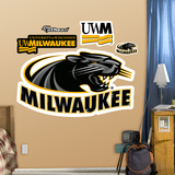 NCAA Wisconsin - Milwaukee Panthers Logo Wall Decal Sticker Wall Decal
