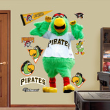 Pittsburgh Pirates Pittsburgh Pirates Parrot Wall Decal Sticker Wall Decal