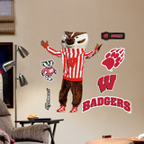 Wisconsin Badgers Mascot Bucky Badger Junior Wall Decal Sticker Wall Decal