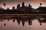 Sunrise At Angkor Wat, Cambodia Photographic Print by Kent Kobersteen