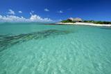 The Medjumbe Island Resort in the Quirimbas Archipelago of Mozambique Fotografisk tryk af Jad Davenport