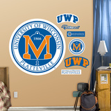 NCAA Wisconsin Platteville Pioneers Logo Wall Decal Sticker Wall Decal