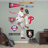 Philadelphia Phillies Cole Hamels Wall Decal Sticker Wall Decal