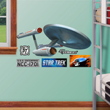 Star Trek U.S.S. Enterprise NCC-170 - 1 Fathead Jr Wall Decal Sticker Wall Decal